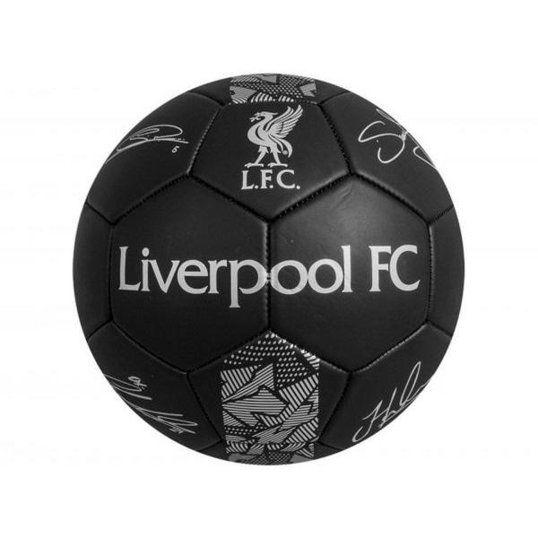 Liverpool FC Phantom Signature Football One Size Svart