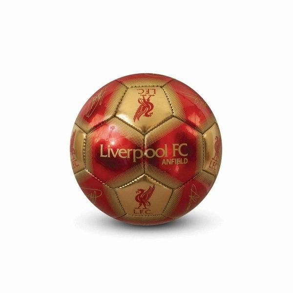 Liverpool FC Minifotboll 1 röd / guld