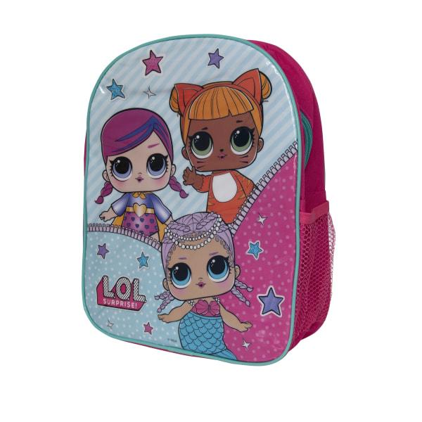 LOL Surprise Barn / barn låt vara vänner ryggsäck One size Rosa