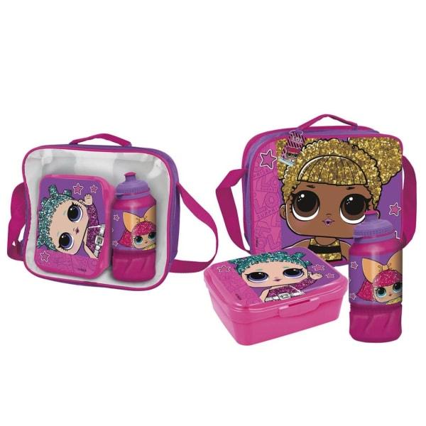 LOL Surprise Barn- / barnpaketuppsättning One Size Rosa lila