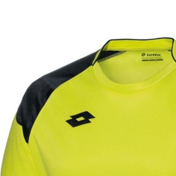 Lotto Junior Unisex Cross Långärmad GK-kit 2XSB Gul neon / svart