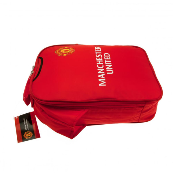 Manchester United FC Kit Lunch Bag One Size Röd