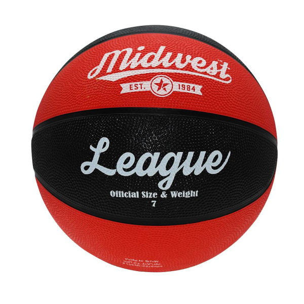 Midwest Ligabasket 3 Svart röd