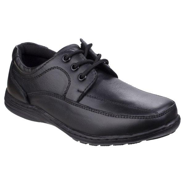 Mirak Childrens Boys Adam School Shoes 1 UK Svart