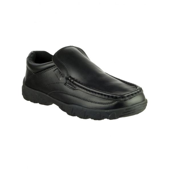 Mirak Childrens Boys Jack Slip On Shoes 1 UK Black
