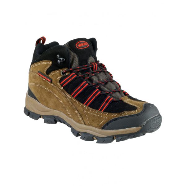 Mirak Kentucky Hiker Womens Hiking Boot 3 UK Brown / Red