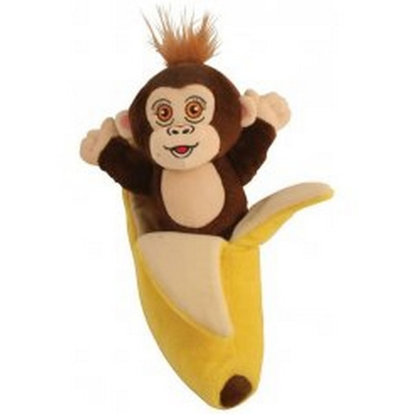 Monkey AdoptiPal Soft Toy One Size Brun / gul