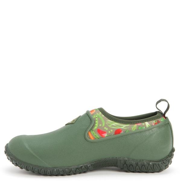 Muck Boots Dam RHS Muckster II Slip On Skor 3 UK Grön