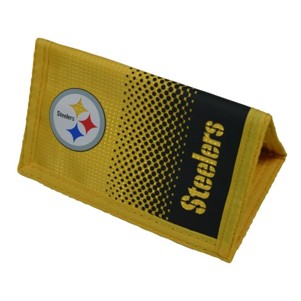 NFL Pittsburgh Steelers officiella Fade Football Crest Wallet On