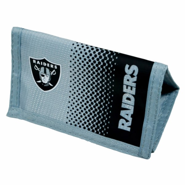 Oakland Raiders Officiell NFL Fade Crest Design plånbok One Size