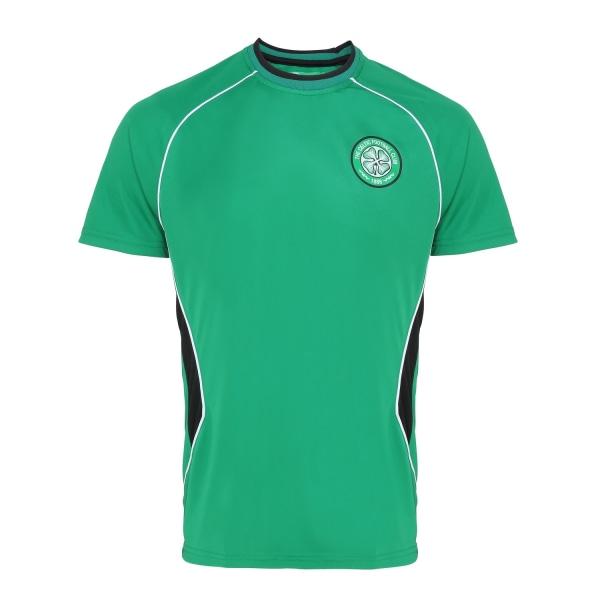 Officiell Merchandise Celtic FC Vuxen kortärmad T-shirt S Grön