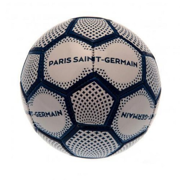 Paris Saint Germain FC Diamond fotboll storlek 1 blå / vit