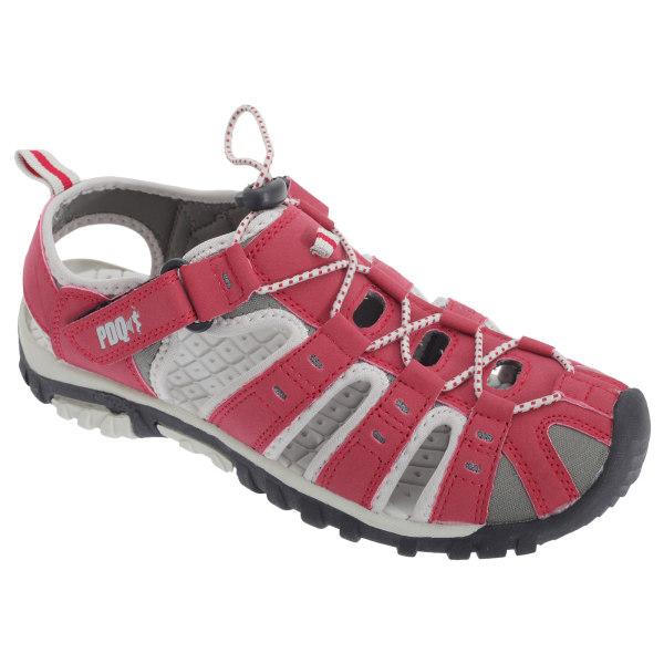 PDQ Kvinnor / damer Toggle & Touch Fastening Sports Sandaler