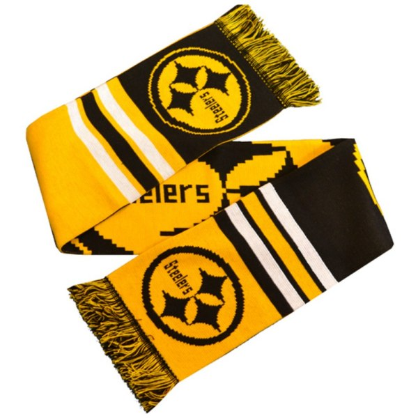 Pittsburgh Steelers Logo Halsduk One Size Gul / Svart