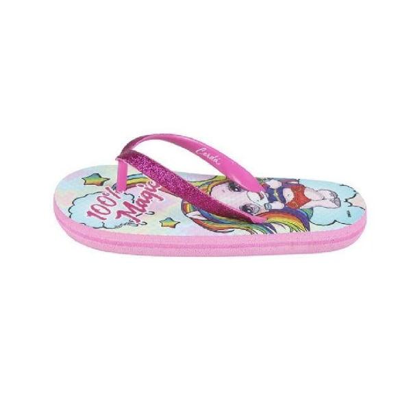 Poopsie Barn / barn flip flops 10-10.5 UK Child Rosa