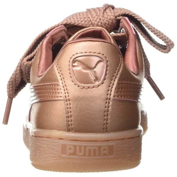 Puma Kvinnor / damer monokrom korghjärta WN Low Top Trainers 4 U