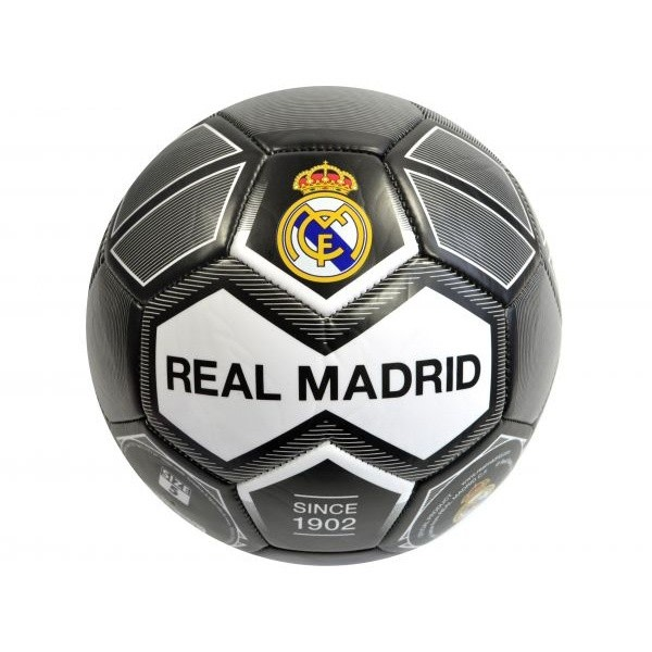 Real Madrid CF Fotboll 5 Svart / Vit