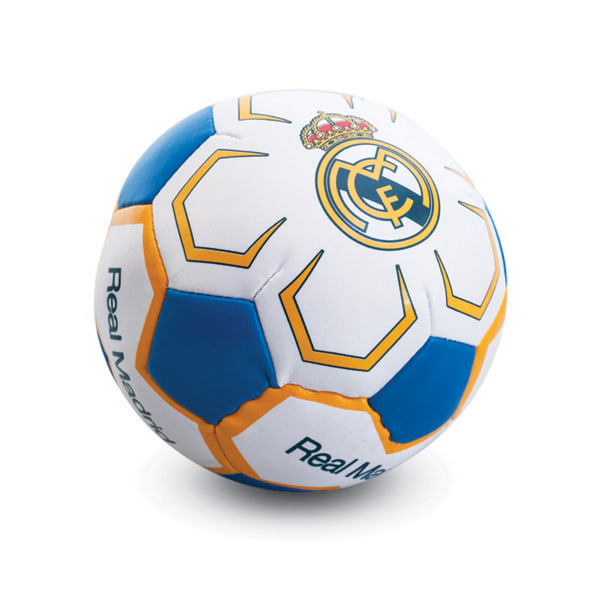 Real Madrid CF Official Crest Design 4in Mini Soft Football One