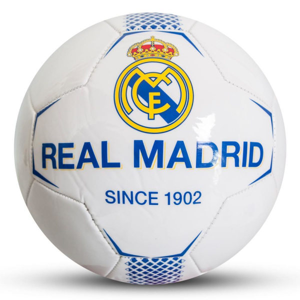 Real Madrid CF Vit fotboll One Size White