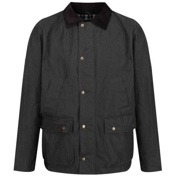 Regatta Mens Banbury Wax Jacket 3XL Dark Khaki