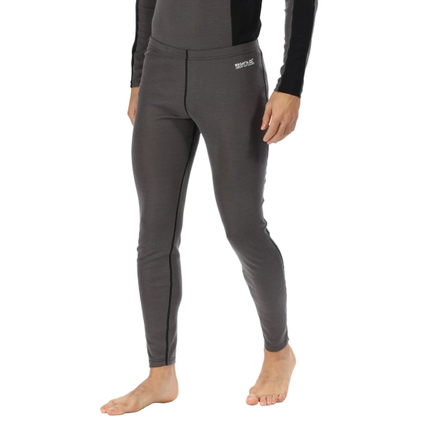Regatta Great Outdoors Mens Zimba Base Layer Leggings XL Magnet