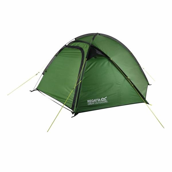 Regatta Adults 3 Man Montegra Geo Tent One Size Alpine Green