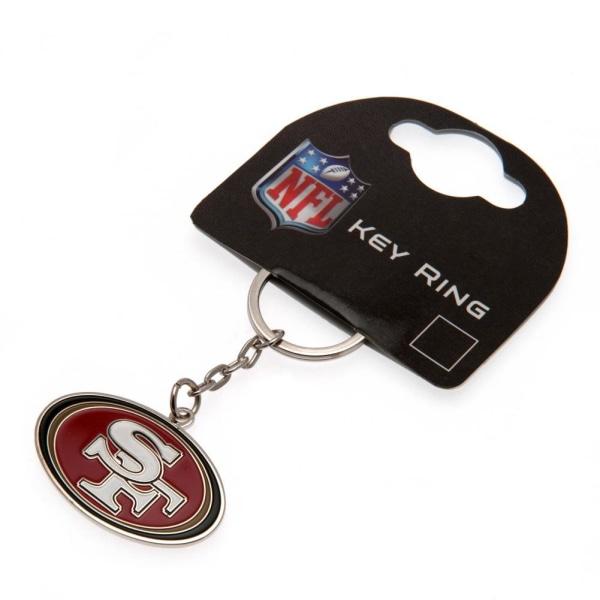 San Francisco 49ers Nyckelring One Size Röd