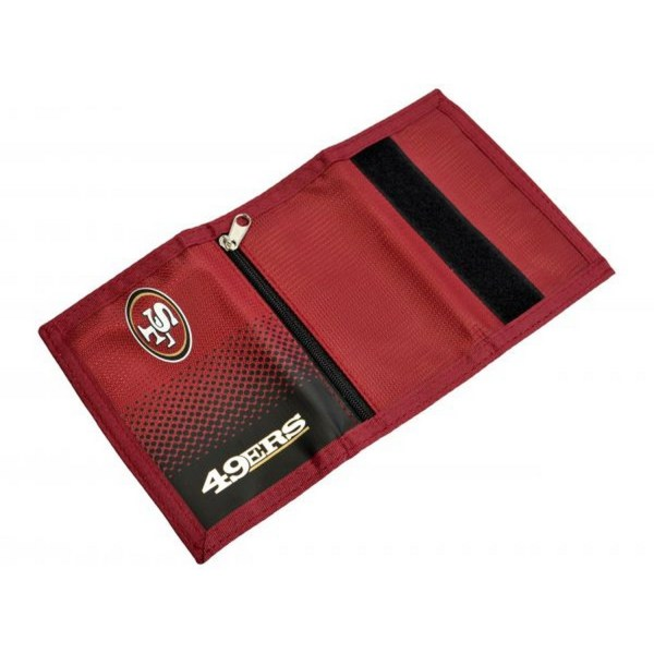 San Francisco 49ers Officiell NFL Fade Design Plånbok One Size R