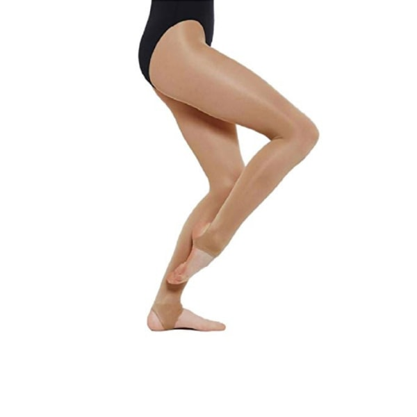 Silky Dance Shimmer Stirrup Tights för kvinnor / damer (1 par) X