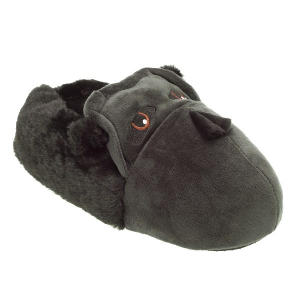 Slumberzzz Gorilla Slippers för män 9/10 UK Mörkgrå