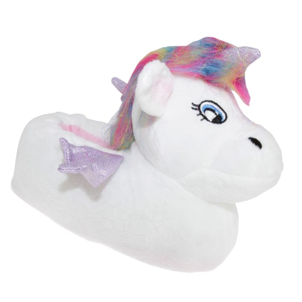 Slumberzzz Unicorn tofflor för barn 2-3 Child UK | 35-36 EU