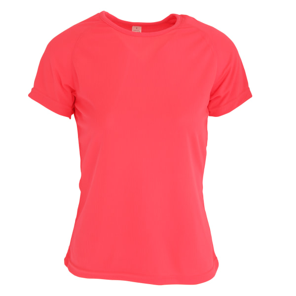 SOLS Sportig kortärmad t-shirt dam / dam XXL svart