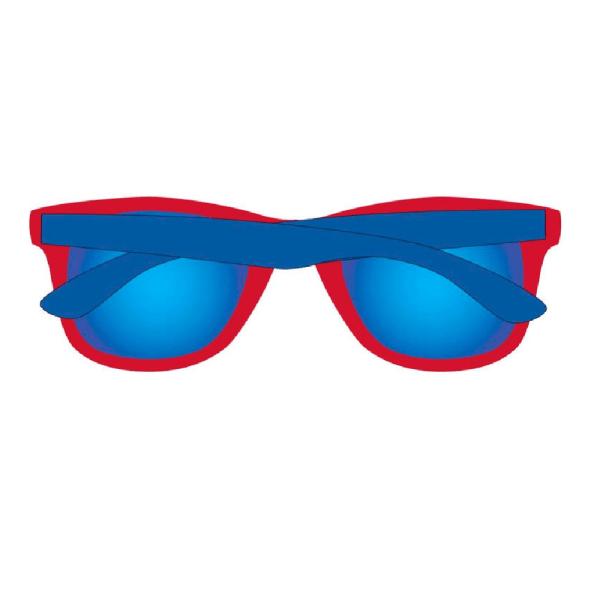 Spider-Man Solglasögon för barn / barn One Size Röd blå