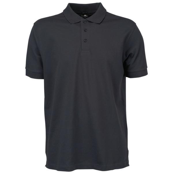 Tee Jays Poloskjorta för herrar L Mörkgrå