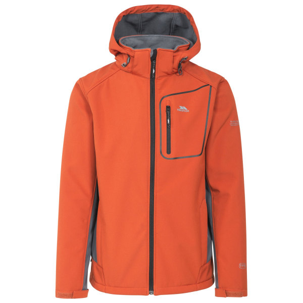 Trespass Herr Strathy II Softshell Jacka M Bränd orange
