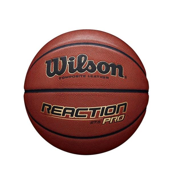 Wilson Reaction Pro läderbasket 6 Solbränna