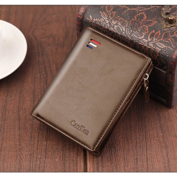 Herrplånbok med RFID-skydd från CarrKen Brun one size