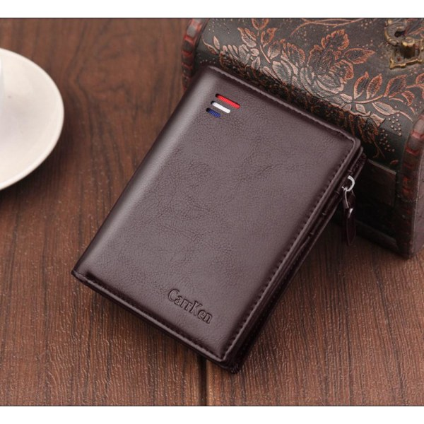 Herrplånbok med RFID-skydd från CarrKen Svart one size