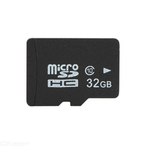 Micro-SD card Klass 10 - 32GB Svart