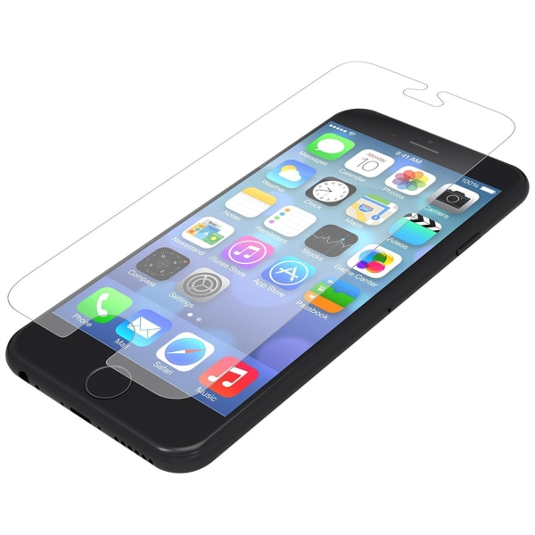 2 x Skärmskydd i härdat glass till iPhone 6+/6S+
