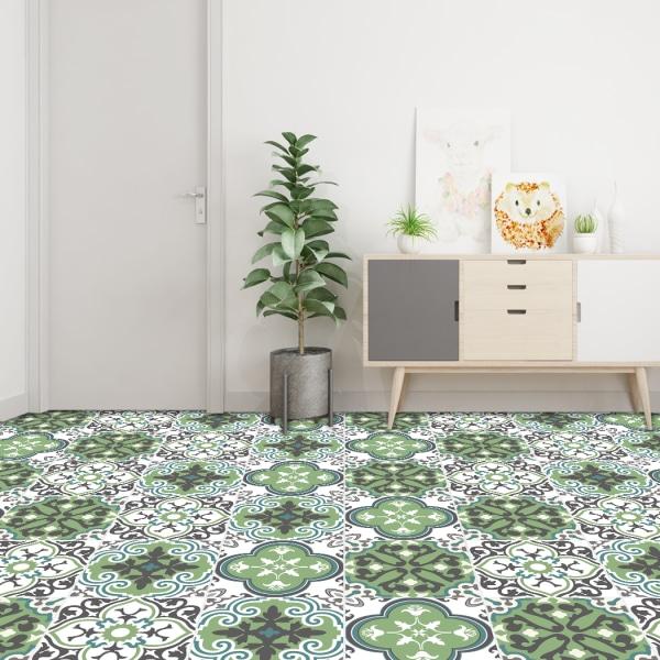 10pcs Waterproof Floor Tile Sticker Bathroom Wall Decor #3 20*20