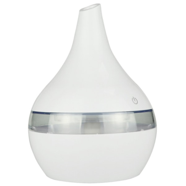 300ML Electric Air Diffuser Aroma Oil Humidifier White
