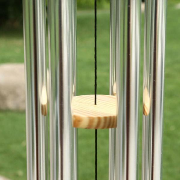 6 rör Windchime Chapel Bells Wind Chimes Hanging Home Decor