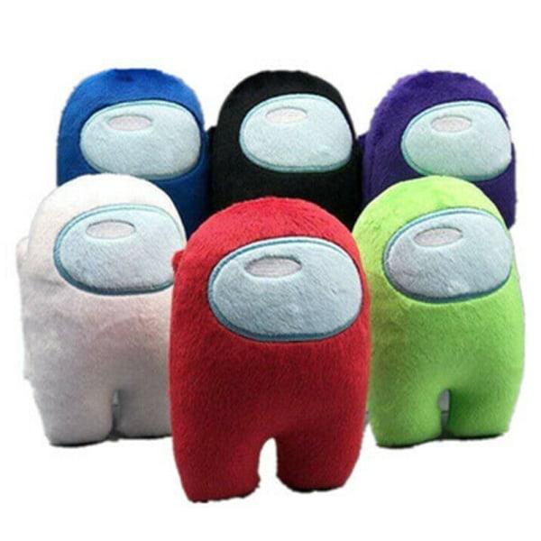 Among Us Game Plush Soft Stuffed Toy Dolls Kid Xmas Gift Red