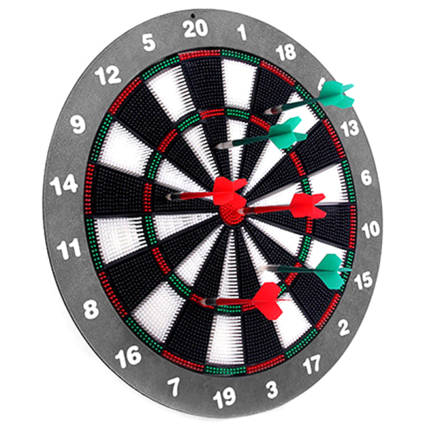 Dartboard Multiplayer Home Room Game Darts Plate English