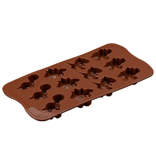 Dinosaurie silikonchoklad möjlig tårta dekorera bakverktyg