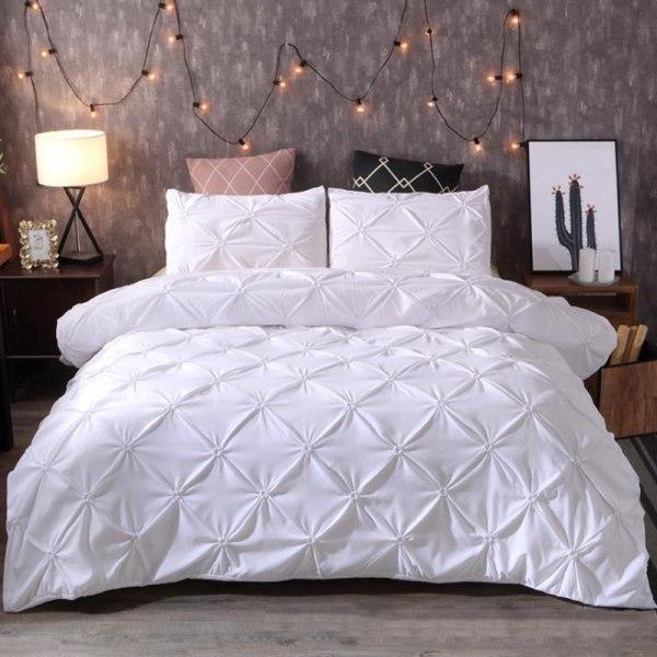 EU KING 3 pcs of Bedding Set Bedclothes Set Coffee EU KING