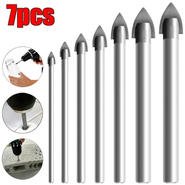 NEW Tile Glass Ceramic Mirror Tungsten Carbide 6PC