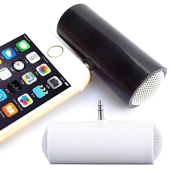 Portable Stereo Mini Speaker Music Audio White