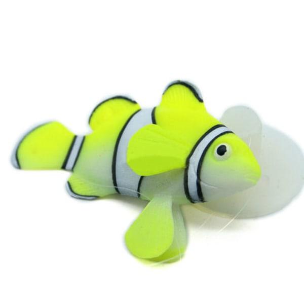Simulation Clownfish Fish Tank Landscaping green